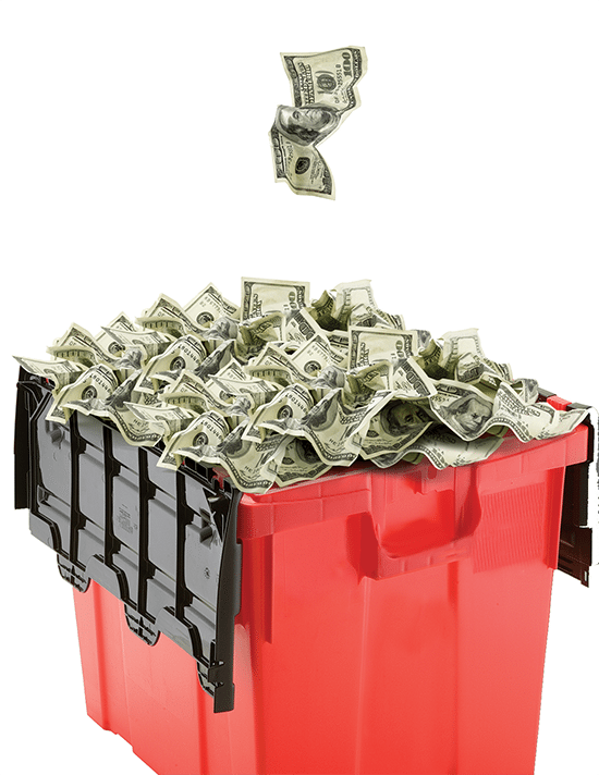 medical waste management savings